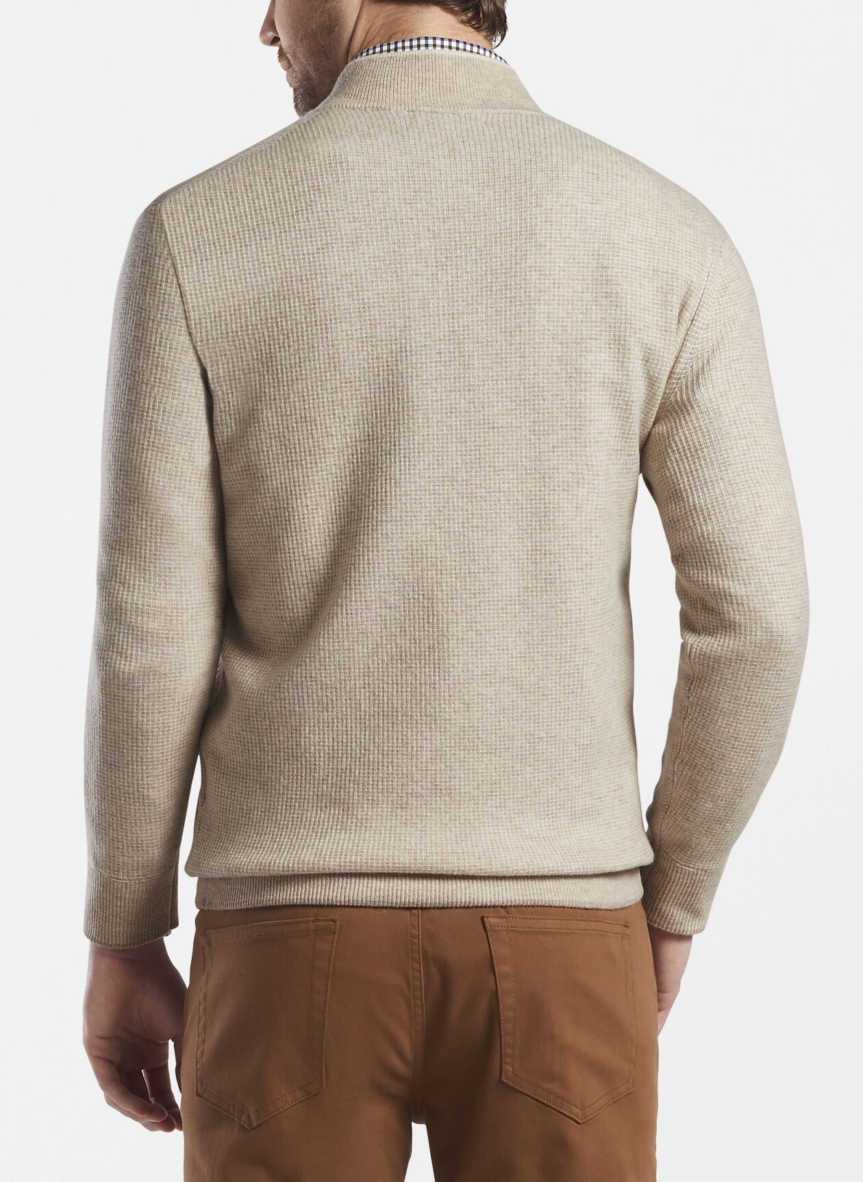 Peter Millar - Wool/Cashmere 1/4 Zip Sweater
