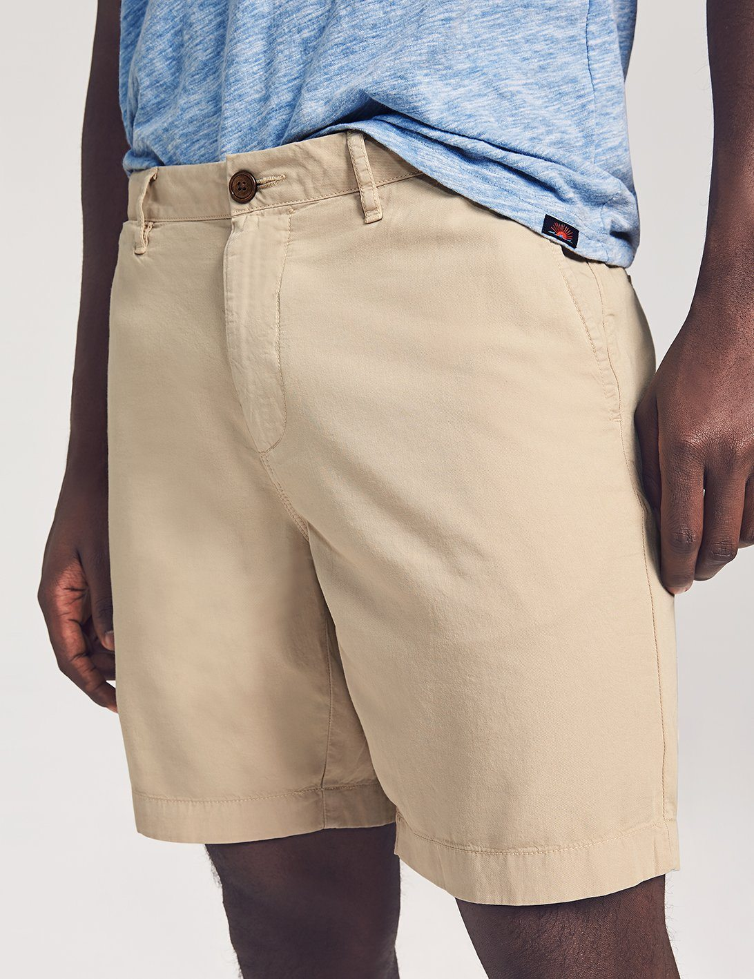 Faherty - Cloud Cotton Harbor Short
