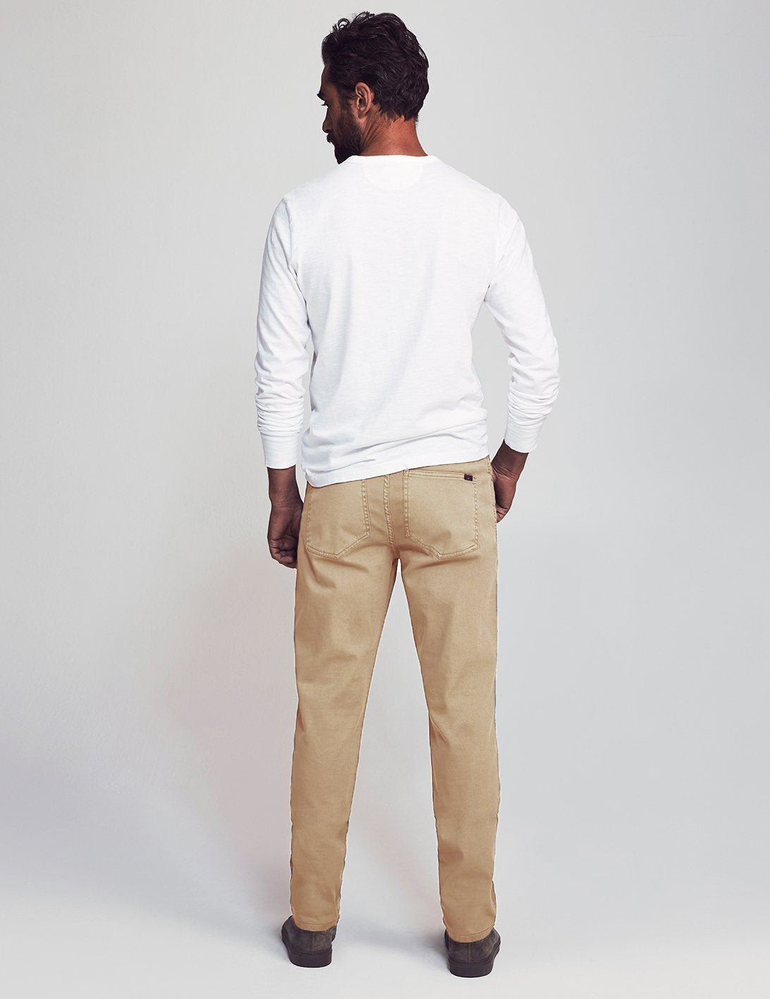 "Faherty - Comfort Twill 5-Pocket 34"" Inseam"