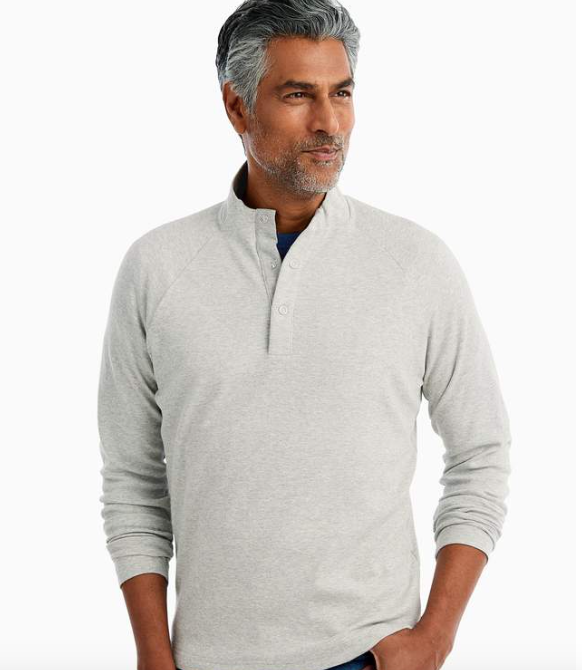 Johnnie-O - Whaling Henley Pullover