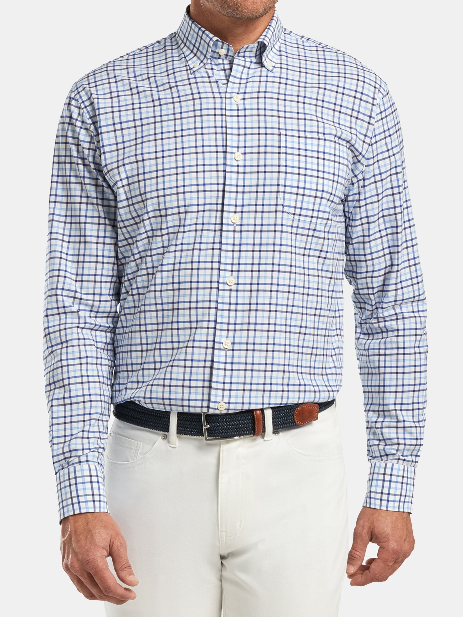 Peter Millar - Crown Lonnie Cotton-Blend Sport Shirt