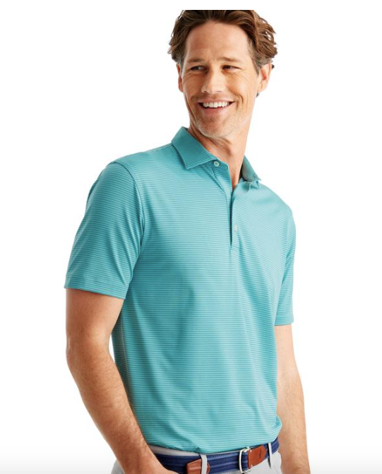 Johnnie-O - Albatross Striped PREP-FORMANCE Jersey Polo