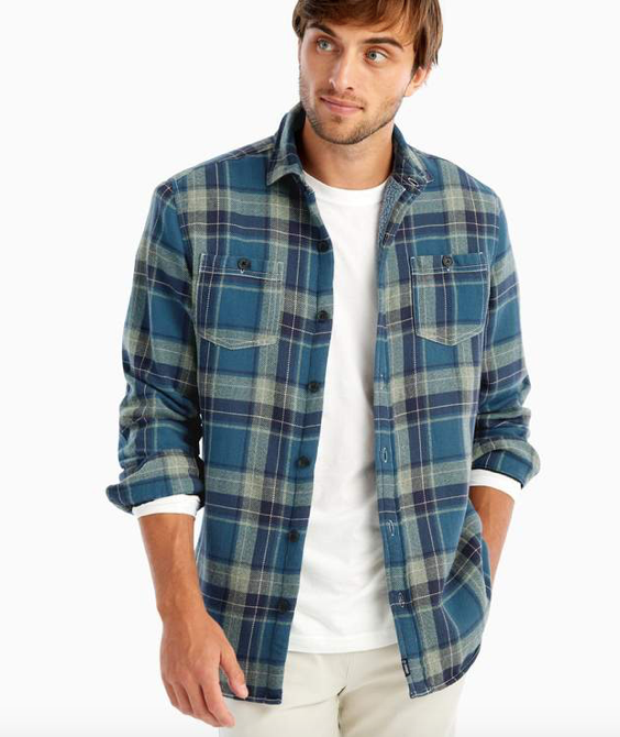 Johnnie-O - Spivey Sherpa Lined Shirt Jacket