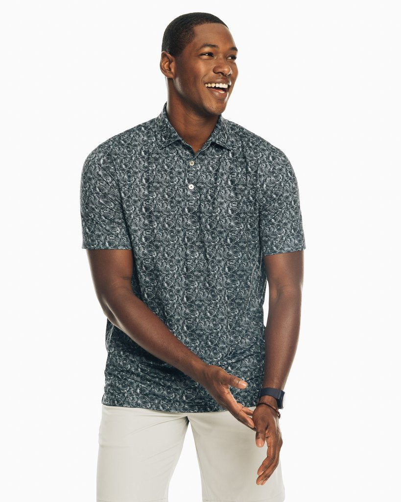 Southern Tide - Driver Printed Performance Polo Shirt
