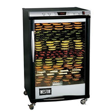 "Load image into Gallery viewer, Weston 28-0501-W Food Dehydrator, 21.5"" x 16"", Silver"