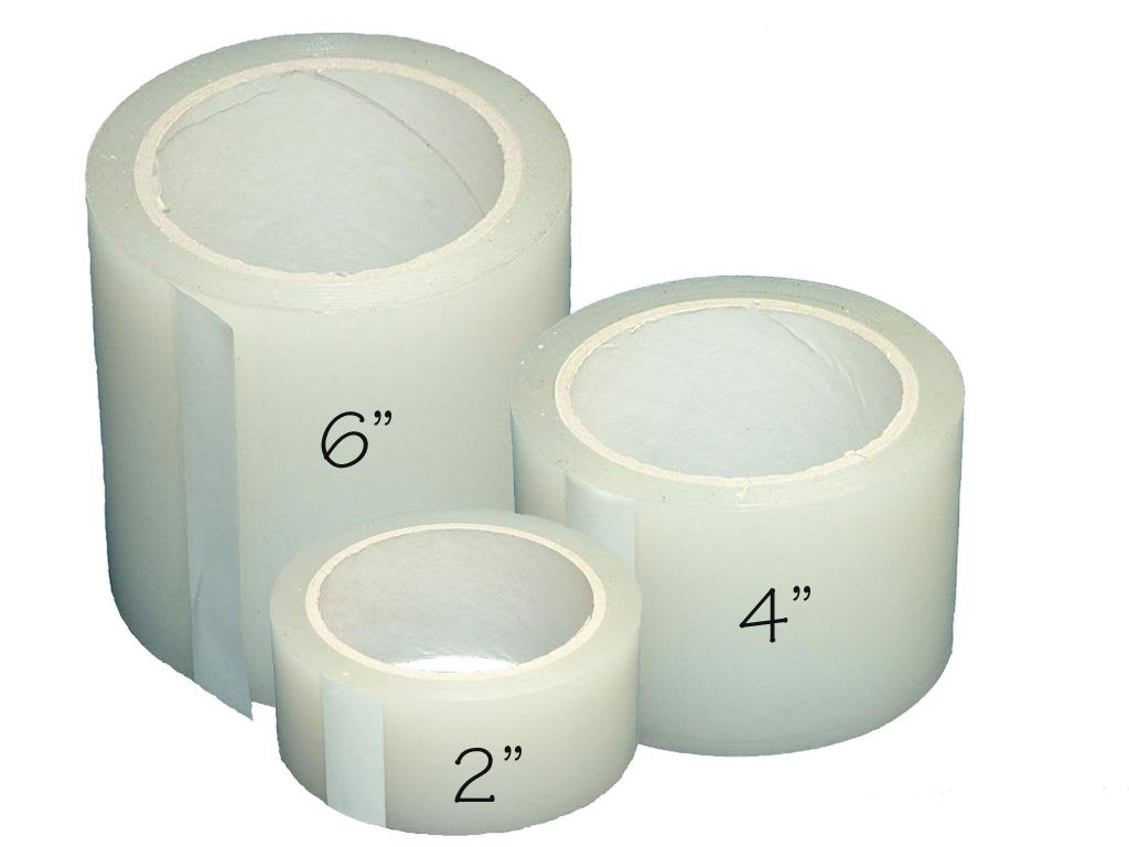Greenhouse Plastic Poly Permanent Repair Tape UV Clear - Extra Strong (6