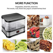 Load image into Gallery viewer, Food Dehydrator Machine, Digital Timer and Temperature Control, 8 Trays, for Jerky/Meat/Beef/Fruit/Vegetable, BPA Free/400 Watt/Updated