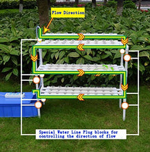 Load image into Gallery viewer, Hydroponic Site Grow Kit 90 Site System with Nest Basket Water Pump and Sponge