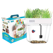 Load image into Gallery viewer, Back to the Roots Water Garden Betta Fish Aquaponic Ecosystem Science Kit for Kids with STEM Curriculum