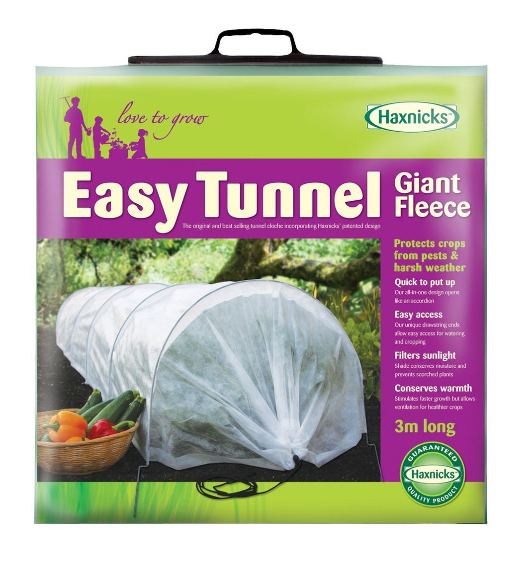 Tierra Garden 50-5010 Haxnicks Easy Fleece Tunnel Garden Cloche, Giant