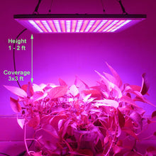 Load image into Gallery viewer, Osunby LED Grow Light, 150W Dimmable Growing Lamp 289 LEDs with Red Blue Spectrum for Hydroponic Indoor Plants Seedling, Vegetative and Flowering