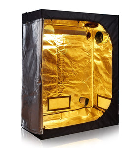 "TopoLite 48""x24""x60"" 600D Grow Tent Room Reflective Mylar Indoor Garden Growing Room Hydroponic System Dark Room"