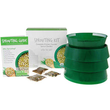 "Load image into Gallery viewer, Handy Pantry Complete Sprouting Kit | ""Sprout Garden"" 3 Tray Sprouter, SG.52 