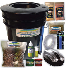Load image into Gallery viewer, The HydroPod - Standard A/C Powered DWC Deep Water Culture/Recirculating Drip Hydroponic Garden System Kit - Bubble Bucket - Bubbleponics - Grow Your Own! Start Today!