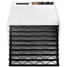 Load image into Gallery viewer, Excalibur 3926TW 9-Tray Electric Food Dehydrator with Temperature Settings and 26-hour Timer Automatic Shut Off for Faster and Efficient Drying Includes Guide to Dehydration Made in USA, 9-Tray,White