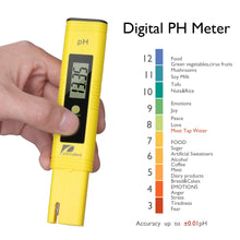 Load image into Gallery viewer, Water Quality Test Meter Pancellent TDS PH EC Temperature 4 in 1 Set