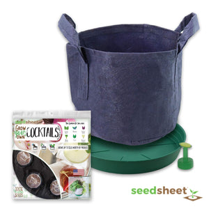 Grow Your Own Cocktails Container Garden Partial Kit