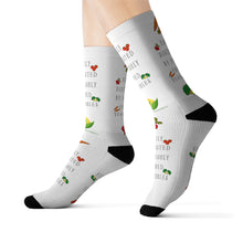 "Load image into Gallery viewer, ""Easily Distracted"" Awesome Sublimation Socks"