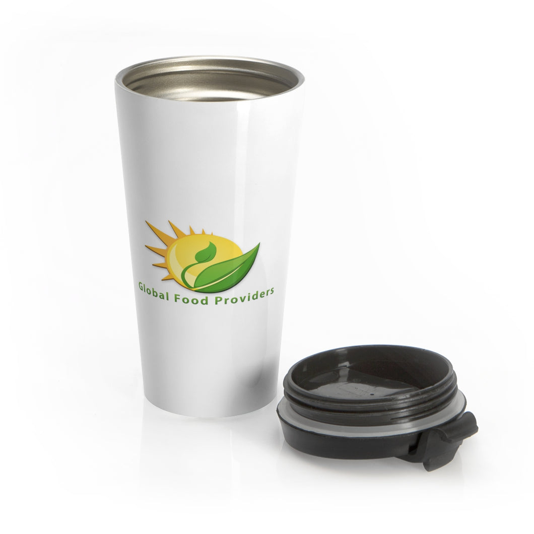 Global Food Providers - Stainless Steel Travel Mug & Lid