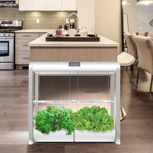 "AeroGarden Farm Plus - White (24"" Grow Height)"