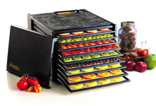 Load image into Gallery viewer, Excalibur 3900B 9-Tray Electric Food Dehydrator with Adjustable Thermostat Accurate Temperature Control Faster and Efficient Drying Includes Guide to Dehydration Made in USA, 9-Tray, Black