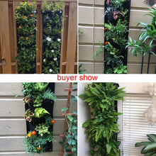 Load image into Gallery viewer, Meiwo New Upgraded Deeper and Bigger 7 Pocket Hanging Vertical Garden Wall Planter for Yard Garden Home Decoration
