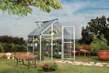 Load image into Gallery viewer, Palram Nature Series Hybrid Hobby Greenhouse - 6' x 4' x 7', Silver