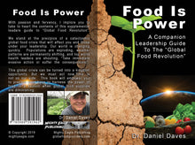 Load image into Gallery viewer, Food Is Power paperback leadership guide - English