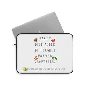 """Easily Distracted"" Laptop Sleeve - Multiple Sizes Available"