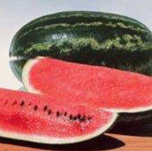 Load image into Gallery viewer, Non GMO Heirloom CONGO Watermelon 100 SEEDS SWEETEST Heavy Yields LARGE 35-40 lbs