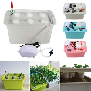 Hydroponic system Kit 6 Holes