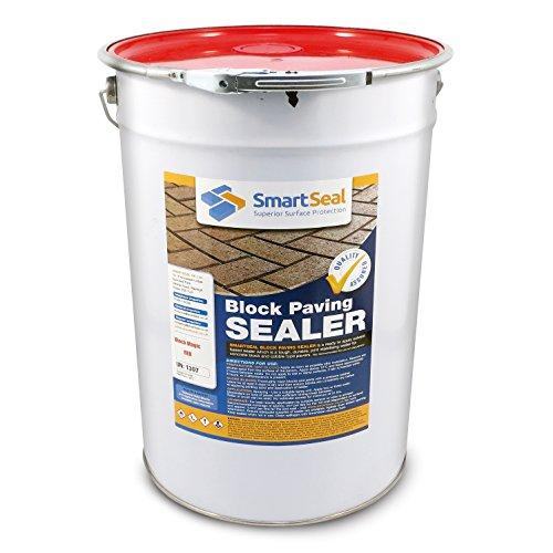 'Block Magic' Re-Colouring Sealer - RED - Add Colour to Your Old Block Paving to Make it Look Like New (25 Litre)