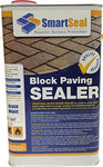 'Block Magic' Re-Colouring Sealer - RED - Add Colour to Your Old Block Paving to Make it Look Like New (5 Litre)