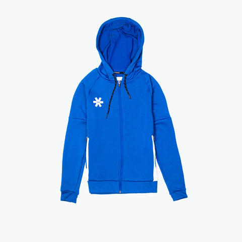 WOMENS TRAINING ZIP HOODIE - ROYAL BLUE