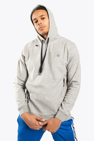 OSAKA MEN TECHLEISURE HOODIE GREY MELANGE