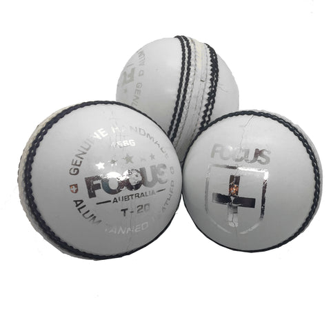 Focus Cricket - T20 Series Match Ball - White