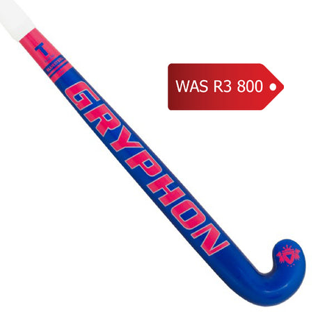 Gryphon TABOO Bluesteel Hockey Stick