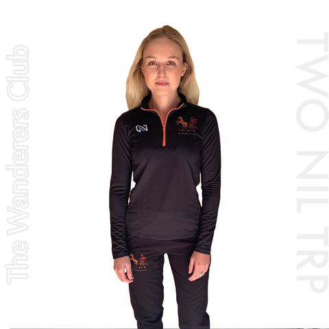 WANDERERS HOCKEY CLUB WOMENS L SLEEVE WARM UP TOP