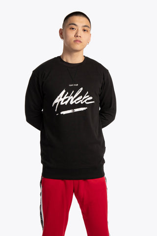 OSAKA MEN SWEATER ATHLETE BLACK