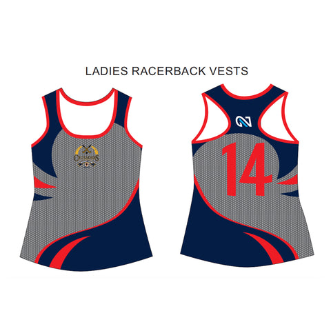 CRUSADERS HOCKEY WOMENS VEST