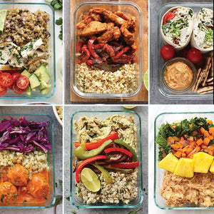 Fresh Meal Prep Example