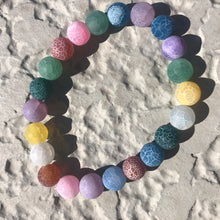Load image into Gallery viewer, Matte Rainbow Agate Bracelet
