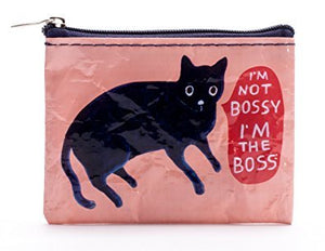 "Coin Purse, ""I'm Not Bossy I'm The Boss"" - 4"" x 3"""