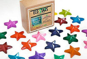 Crazy Crayons Eco Stars (100% Recycled Crayons) (30 Piece Pack)