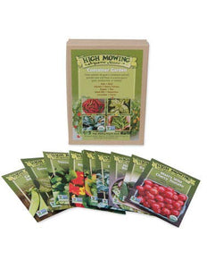 Container Garden Organic Seed Collection