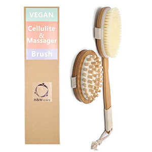 Dry Brushing Body Brush Set-Vegan Bristle