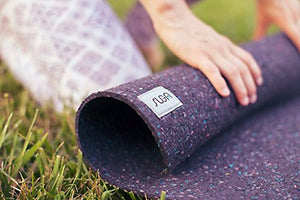 Yoga Mat from  Recycled  Wetsuits - Non-Slip  Made in USA + Antimicrobial (Regular)
