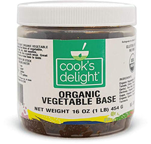 Cook's Delight Organic Vegetable Soup - Makes 5 1/2 gal of soup stock