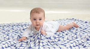 Silky Soft Bamboo Muslin Swaddle Blanket - 3 Pack