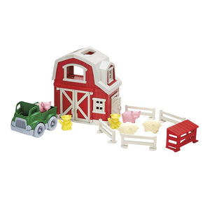 Recycled Farm Playset